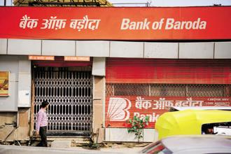 Bank of Baroda, Vijaya Bank and Dena Bank have said that their merger will take 4-6 months to complete. Photo: Pradeep Gaur/Mint