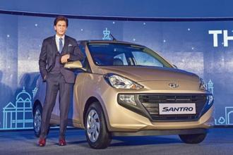 At a starting price of ₹3.89 lakh ex-showroom, Hyundai opened online bookings for the new Santro on 10 October and has received  23,500 bookings so far. PTI