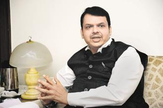 The BJP-led government in Maharashtra has achieved much more in four years than what the Congress-NCP did in their 15 years, says CM Devendra Fadnavis. Photo: Abhijit Bhatlekar/Mint