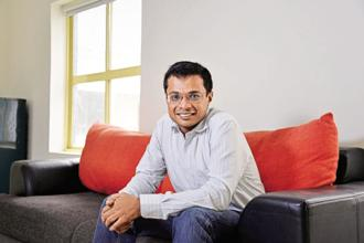 Sachin Bansal has been working closely with Ather Energy and was among the first customers to take home the Ather 450 electric scooter in September. Photo: Mint