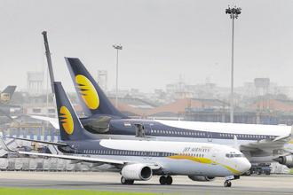 Jet Airways, controlled by Naresh Goyal, needs to urgently raise cash to stay afloat. Photo: Abhijit Bhatlekar/Mint