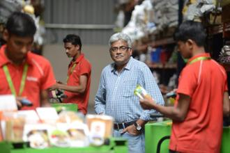 BigBasket founder Hari Menon. The online grocery startup has put merger talks with smaller rival Grofers on hold. Photo: Mint
