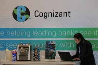 Cognizant said revenue in the three months ended 30 September increased 8.3% from a year earlier to $4.08 billion. Photo: Reuters