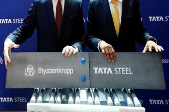 Thyssenkrupp and Tata Steel earlier this year unveiled plans to combine their steel activities in Germany, the Netherlands and Britain. Photo: Reuters
