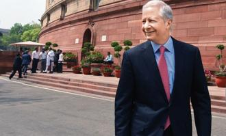 US ambassador to India Kenneth Juster.  Photo: HT