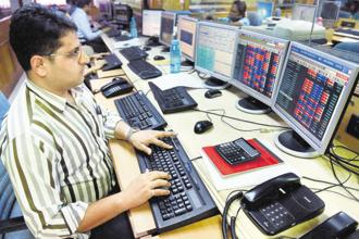 Benchmark indices BSE Sensex and NSE's Nifty 50 traded higher on Friday. Photo: PTI