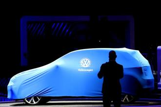 Volkswagen's I.D. range is at the heart of one of the auto industry's most aggressive electric car initiatives—a plan to put 50 models on the road across the group. Photo: Reuters