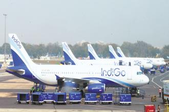 IndiGo is due to take the delivery of its first A321neo later this month. Photo: Ramesh Pathania/Mint