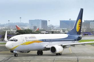 Jet Airways had a negative net worth as on 30 September, with current liabilities exceeding current assets. Photo: Abhijit Bhatlekar/Mint