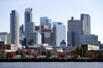 One of the areas that Amazon is considering for a headquarters is Long Island City. Photo: AP