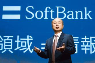 Billionaire Masayoshi Son, chairman and chief executive officer of SoftBank Group Corp. Photo: Bloomberg
