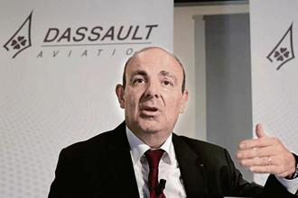 Eric Trappier, CEO Dassault Aviation. Photo: Reuters