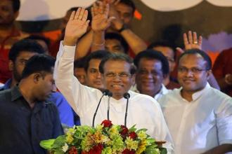 President  Sirisena on Friday dissolved the 225-seat parliament and called for elections on 5 January and a new legislature to reconvene on 17 January. File photo: AP
