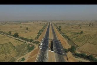 KMP expressway is also known as Western Peripheral Expressway. Photo: Youtube