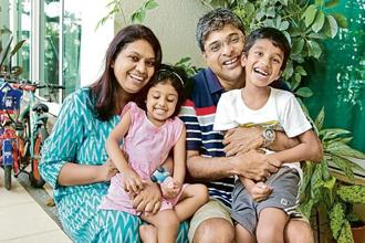 Srinivvasan Gopalkrishnan and his wife Rohini Rajagopal do not believe that travelling with children can be a barrier towards an adventurous, intrepid travel.