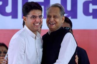 Senior Congress leaders said the decision to field both Pilot and Gehlot has to be also seen in the light of the official position of the  Congress that in case of victory the elected MLAs would choose the chief minister. Photo: PTI