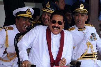 Mahinda Rajapakse. Photo: AFP