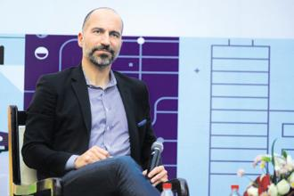 Uber CEO Dara Khosrowshahi. Sustained losses could also push Uber to merge with rivals in India and the Middle East, particularly as Uber and Ola share an investor in SoftBank. Photo: Pradeep Gaur/Mint