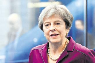 UK PM Theresa May insisted that Brexit meant making 'the right choices, not the easy ones' and urged lawmakers to support the deal 'in the national interest'. Photo: Reuters