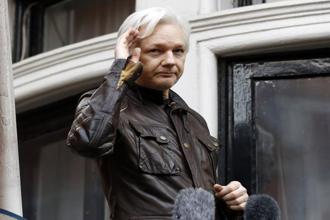 Julian Assange has been holed up at Ecuador's embassy in London since 2012, where he took refuge over fears of being extradited to the US over the 2010 WikiLeaks cable dump. File photo: AP