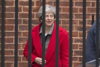 While Prime Minister Theresa May is gripped by political turmoil in the UK, Brexit negotiators have some unfinished business in Brussels. Photo: AP