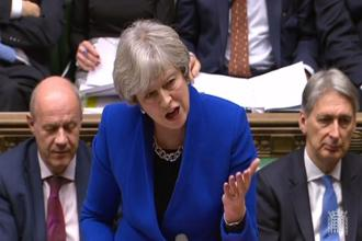 A resignation by the five Brexiteers would increase the chances PM Theresa May will face a no-confidence vote in the House of Commons and she might be forced to step down. Photo: AFP