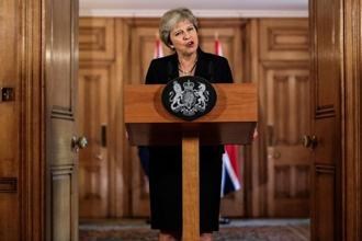 UK PM Theresa May rolled the dice with a dramatic reshuffle of her ministerial team as she battles to cling onto her job and stop her own party tearing up her Brexit deal. Photo: Reuters