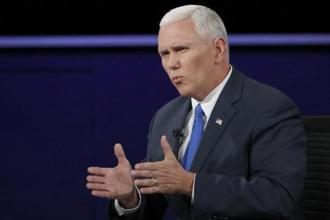 Mike Pence announced the Indo-Pacific Transparency Initiative, a good government programme that he said would be backed by $400 in US funding. Photo: Reuters