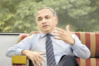 What has been built here by the founders and all the leaders is an exceptional business, says CEO Salil Parekh of Infosys. Photo: Jithendra M/Mint