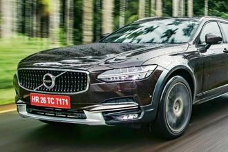 The Volvo V90 CC is fitted with 19 Bowers and Wilkins speakers producing 1,400W audio output.
