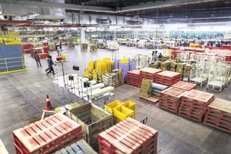 Warburg Pincus-backed ESR is one of Asia's largest developers and operators in logistics and warehousing. Photo: Bloomberg