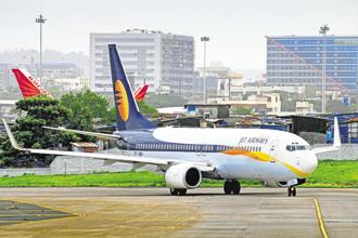 Jet Airways, which has a fleet of 124 planes, has a workforce of 16,000 employees. Photo: Reuters