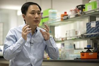 Chinese researcher He Jiankui has claimed that he used CRISPR to produce the world's first 'designer babies'. Photo: AP