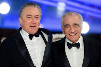US actor Robert De Niro (L) and US film director Martin Scorsese (R), arrive at the Marrakech International Film festival on December 1, 2018 in the city of Marrakesh. Photo: AFP