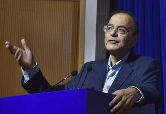 Jaitley stressed that even though it has been a little less than two years since the IBC of India became operational, it was anticipated that in the initial stages there will be some teething troubles. Photo: AP
