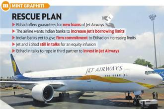Since January, shares of Jet Airways have plunged more than 66% to ₹278.20. Graphic: Mint