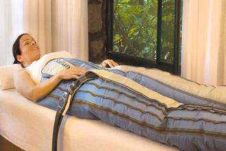 The Body Ballancer® is a patented machine-based treatment that works on the principle of lymphatic drainage massage.