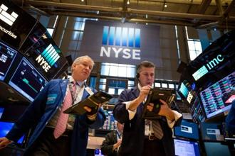Most sectors were sharply lower on Wall Street, with financials, industrials and technology losing two percent or more. Photo:Bloomberg