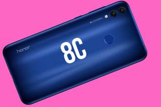 The Honor 8C runs a Qualcomm Snapdragon 632 SoC with up to 4GB of RAM and 64GB of internal storage.