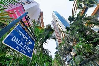 The Sensex  had slumped over 700 points on Monday.