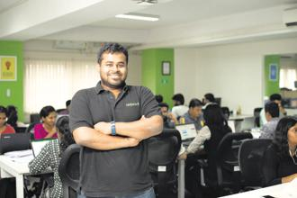 Thirukumaran Nagarajan, co-founder and chief executive of NinjaCart.
