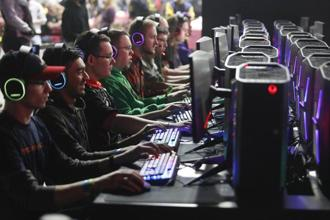 Gamers at DreamHack-Atlanta earlier this year. Photo: Getty Images