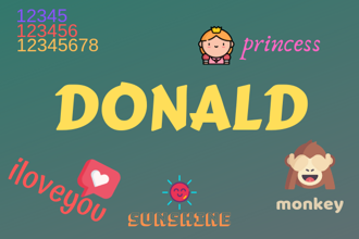 'donald' made a debut on the list of worst passwords to have in 2018.