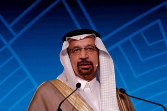 Saudi Arabia oil minister Khalid al-Falih. Photo: Reuters