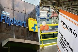Flipkart and Amazon are going all out to woo the next 100 million users that they believe will come from tier-II and tier-III markets.