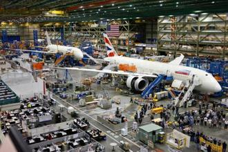 The Boeing Everett Factory in Seattle. Photo: Bloomberg