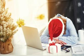There is a cure for the holiday hangover—no matter how you handle your vacation time. Photo: iStock
