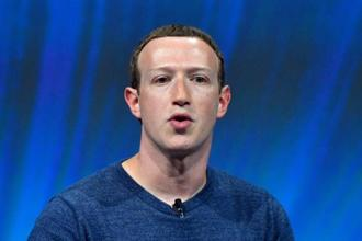 Facebook CEO Zuckerberg. Photo: AP