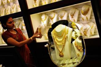 Gold rates today rose Rs 150 to Rs 32,650.