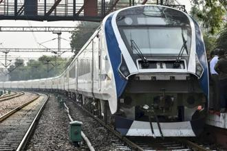 India's first engine-less train was developed by the Chennai Integral Coach Factory in 18 months. Photo: PTI